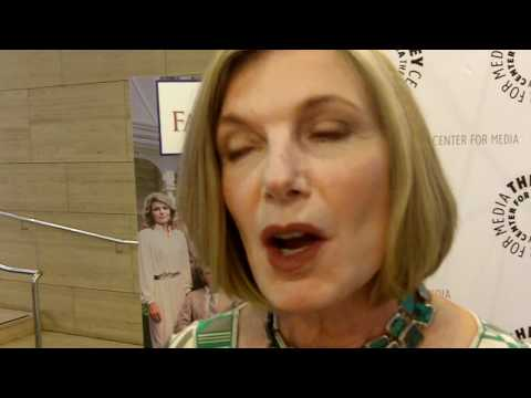 Susan Sullivan at the Falcon Crest Reunion Paley Center