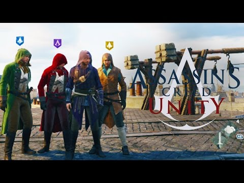 Assassin's Creed Unity - HEIST MULTIPLAYER CO-OP MISSION!