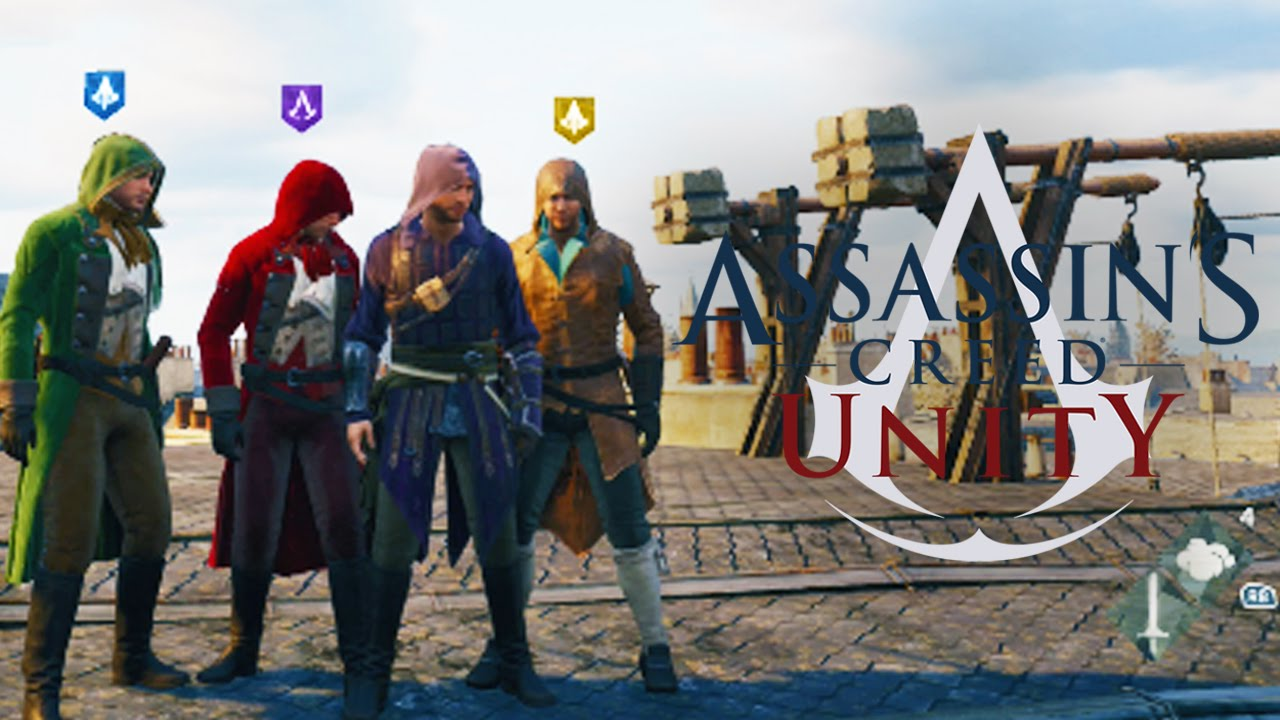 Assassin S Creed Unity Heist Multiplayer Co Op Mission Youtube