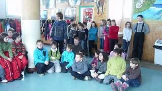 rencontre avec les enfants de Bois d'Amont.wmv