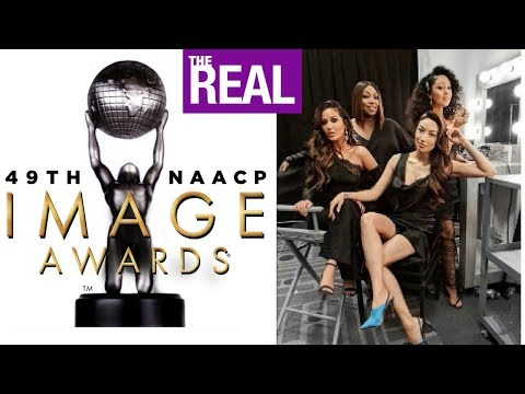 'The Real' WINS NAACP AWARD | Tamera Mowry is SUPER $EXY & Jeannie speaks Vietnamese during speech!