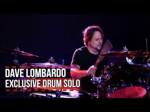Dave Lombardo - Exclusive Drum Solo