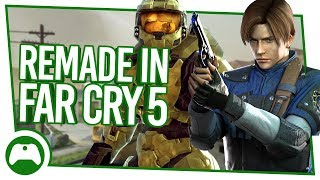 See Halo, Call of Duty and Resident Evil Remade In Far Cry 5!