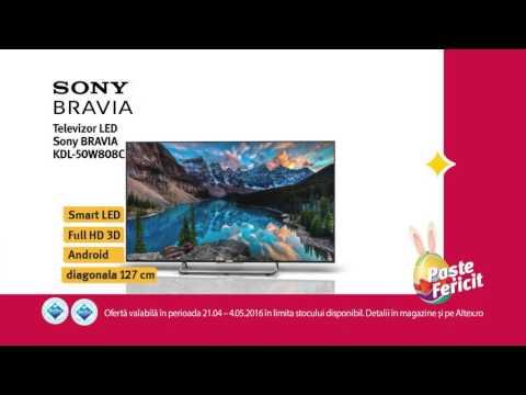 Reclamă ALTEX TV Sony - aprilie 2016