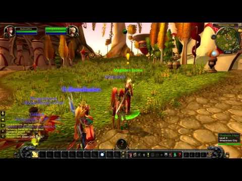 World of Warcraft: Starter edition as a Blood elf paladin part 2