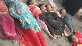 Burma Buddhist Killing Innocent Muslim Kids