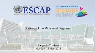 CS 74: Opening of the Ministerial Segment