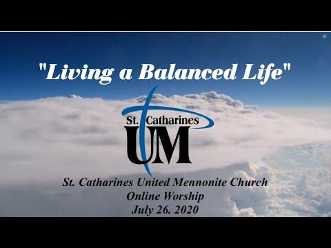 July 26 2020 Online Church Service St Catharines United Mennonite Church Youtube