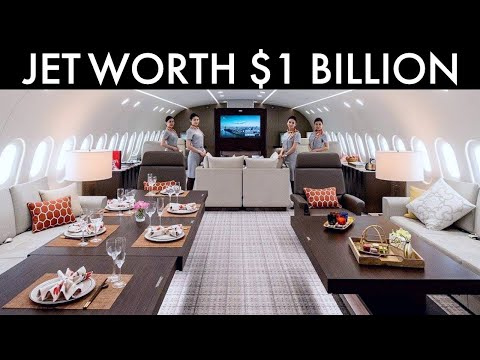 7 Most Expensive Private Jets In The World