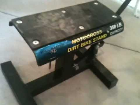 Harbor Freight 350 Lb Motocross Dirt Bike Stand Modification