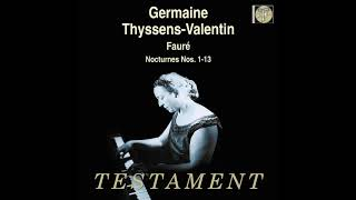 Fauré: Nocturne No. 6 in D-flat (Thyssens-Valentin)