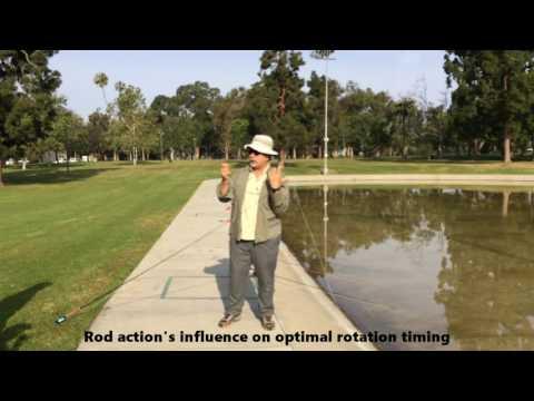 Steve Rajeff, Long Beach Casting Club, distance fly-casting