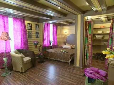 Дизайн интерьера Спальни для дачного дома