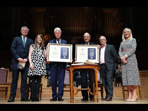US Peacebuilders honoured with Freedom of the City of Belfast