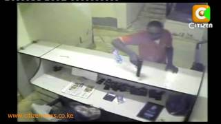 Robbers Caught In The Act