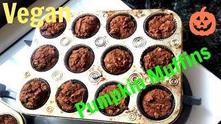 Pumpkin Muffin Recipe | Easy, Oil Free & Vegan!