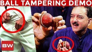 BALL TAMPERING Scandal: Live Demo & Analysis by Sumanth C Raman   Australia   BOATS 24