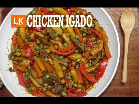 how to make pork igado