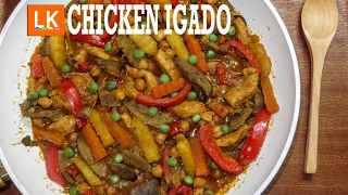 CHICKEN IGADO Recipe /Luweeh's Kitchen