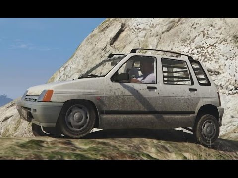 Daewoo Tico SX crash and fun (Link) - GTA V