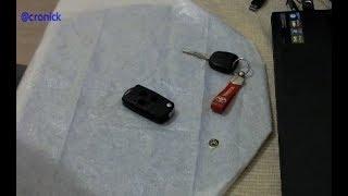 Otomobil anahtarı sustalı dönüşümü & pil değişimi & kumanda bakımı...