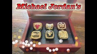 Chicago Bulls ALL 6 Championship Rings Review (Michael Jordans)