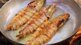 JUMBO SHRIMP DRY FRY COOKING SHRIMP RECIPE shrimp
