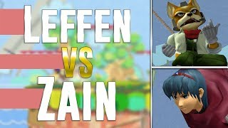 Leffen (Fox) vs Zain (Marth) GOML 2019 Analysis