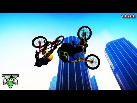 GTA 5 Next Gen: Extreme BMX JUMPS & STUNTS!!! - Grand Theft Auto 5 - w/ STREAM TEAM
