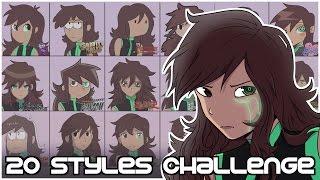 20 Styles Challenge // Lus