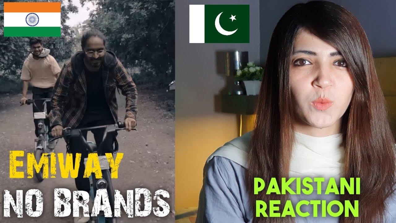 EMIWAY - NO BRANDS | Pakistani Girl Reaction | Emiway New Song