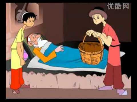 Uyghur Karton Film Sewep Qilsang Siwette Su Toxtaydu