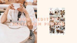 HOW I EDIT MY INSTAGRAM PHOTOS - VSCO, SNAPSEED + UNUM