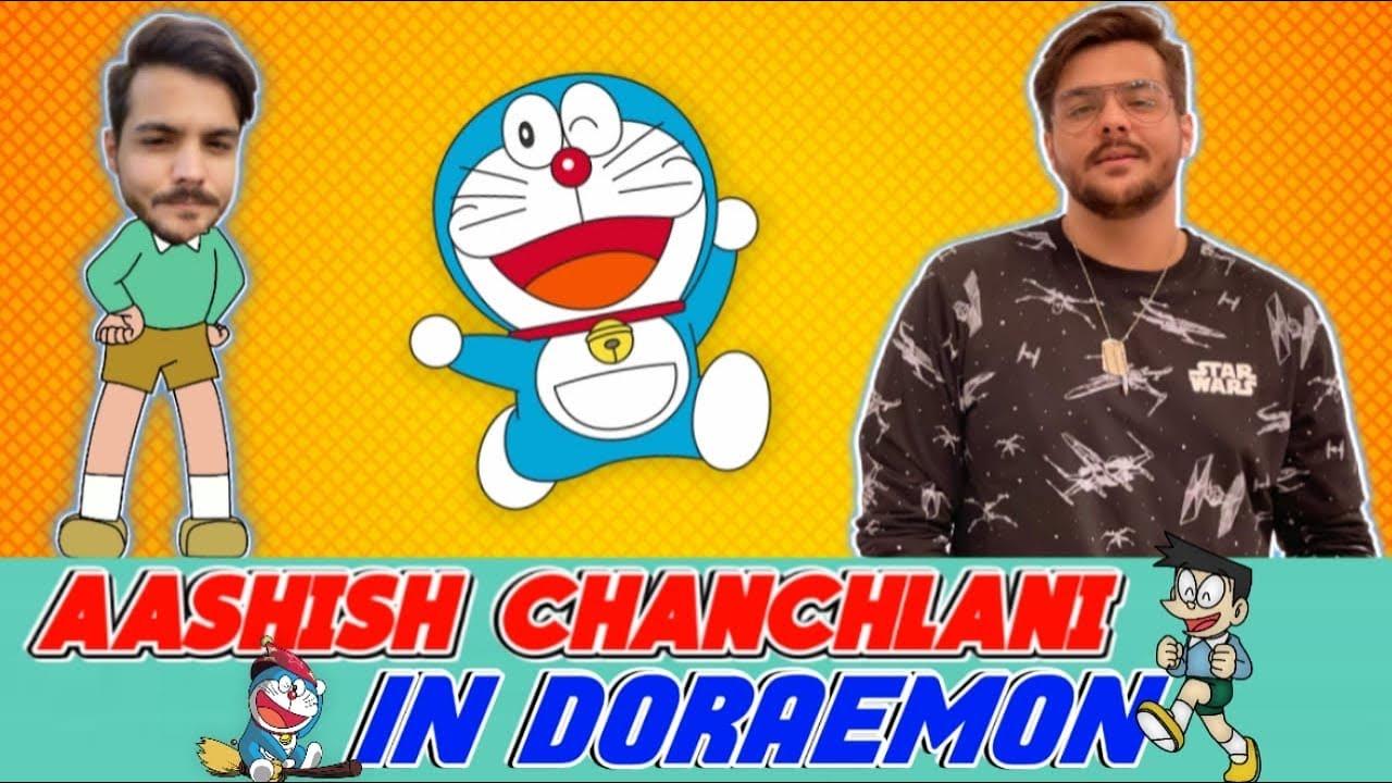  @ashish chanchlani vines   In Doraemon???