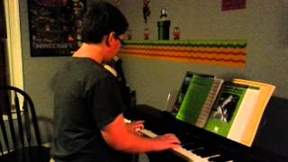 Cade 12 yo piano cover Moscow (Do a Barrel Roll) Dschinghis Khan