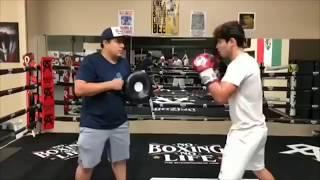 Ryan Garcia Training With Canelo's Team