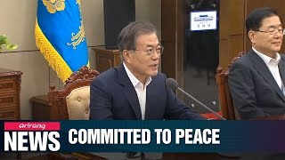 "Pres. Moon to fully support ""imminent"" resumption of N. Korea-U.S. nuclear talks"