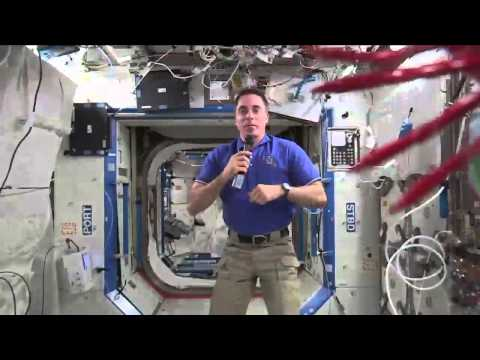 Cassidy Recounts His Experiences on ISS