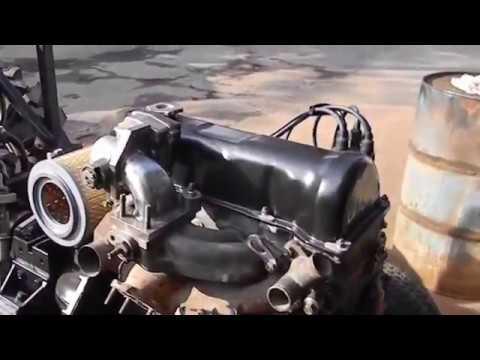 Merakit Mini Traktor Dari Mobil Bekas.