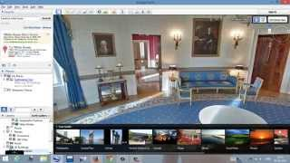 White House by Google map Free HD Video