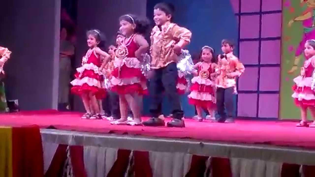 Shala la la la. Kg kids dance youtube.