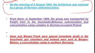 Study IQ education! Anne Frank biography ऐनी फ्रैंक की जीवनी The Diary of a Young Girl, Victim of Je