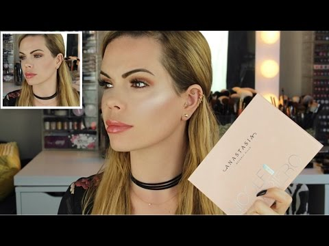 Nicole Guerriero x ABH Glow Kit Review with Swatches & Compa