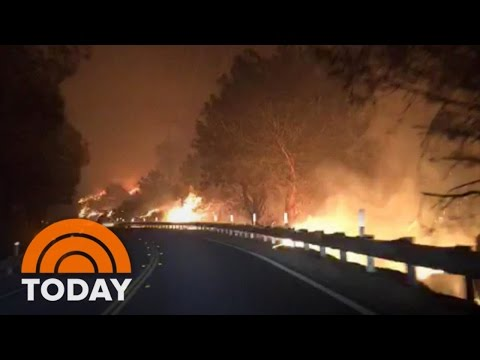 California Wildfires Destroy 200 Homes, At Least 2 Dead | TODAY