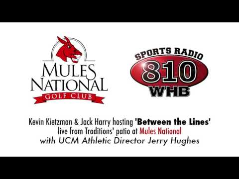 UCM Athletics: Athletic Director Jerry Hughes on 810 Sports Radio LIVE at MNGC