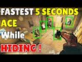 The * FASTEST * 5 Seconds ACE Using This Hiding Spot   Even Pros Use Mira Trick - Rainbow Six Siege