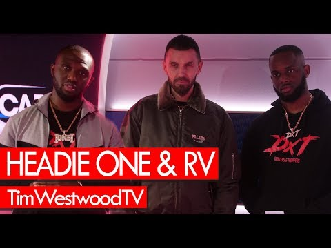 RV & Headie One on DXT2 drill Match Day drip MoStack 18 Hunna - Westwood