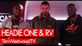 RV & Headie One on DXT2, drill, Match Day, drip, MoStack, 18 Hunna - Westwood