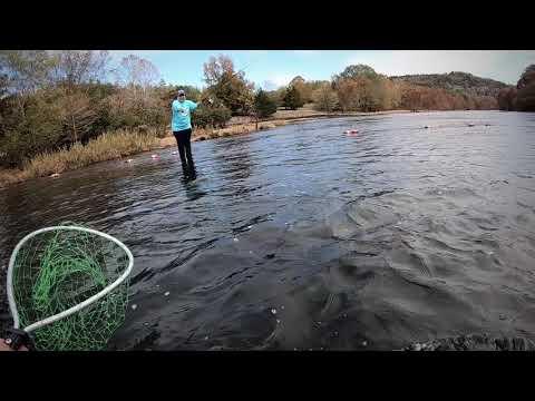 Trout Fishing Broken Bow Oklahoma
