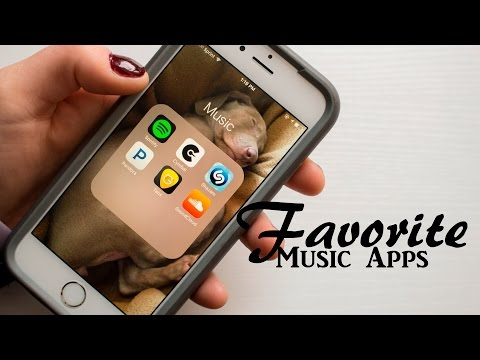 Favorite Music Apps + Giveaway Winners Announced